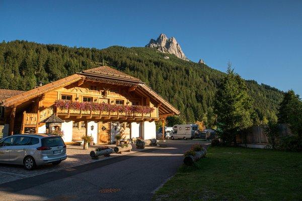 Photo exteriors in summer Camping Catinaccio Rosengarten