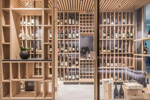 La cantina dei vini San Lorenzo di Sebato Winklerhotel Winkler