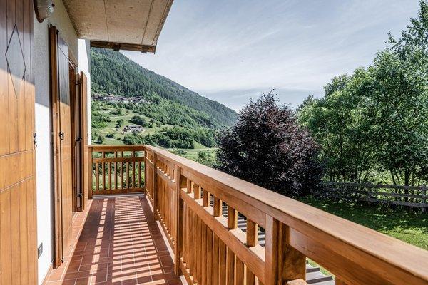 Photo of the balcony Villetta Val di Sole