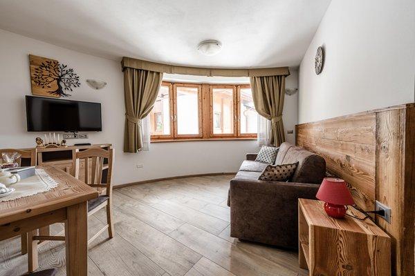 The living area Apartments Villetta Val di Sole