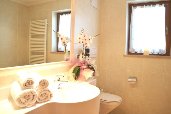 Foto del bagno Albergo Onach