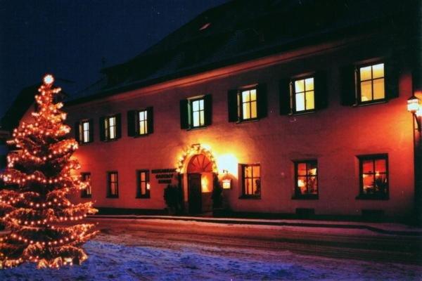 Foto invernale di presentazione Albergo Sonne