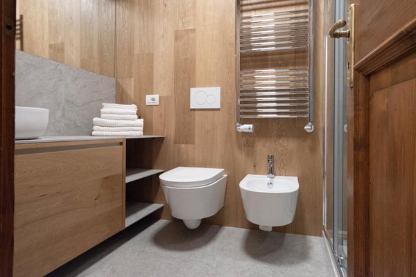 Foto del bagno Appartamento Chalet Ruoibes