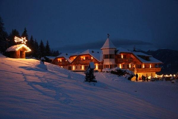 Photo exteriors in winter Almdorf Haidenberg