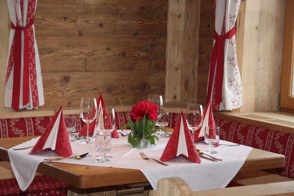 The restaurant San Lorenzo di Sebato / St. Lorenzen Almdorf Haidenberg