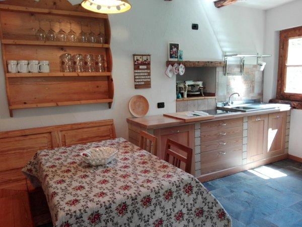 Foto della cucina Chalet Simona