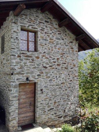 Foto esterno in estate Chalet Simona