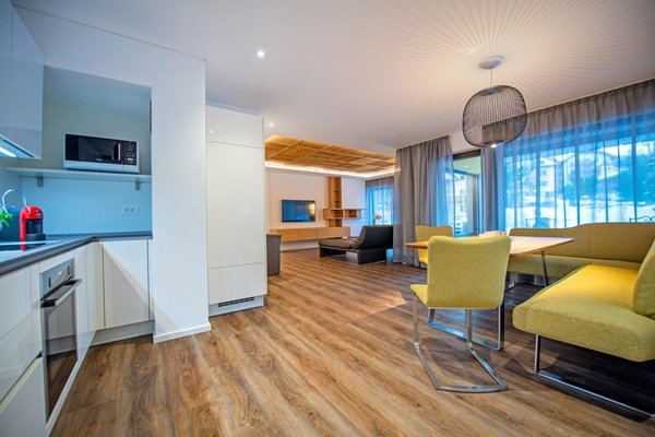The living area Apartments Rumanon