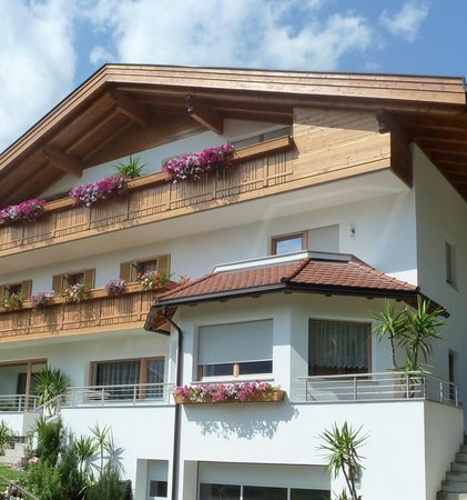 Photo exteriors in summer Pramstaller Apartments