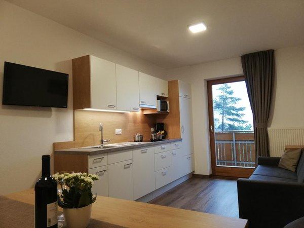 Photo of the kitchen Pramstaller Apartments