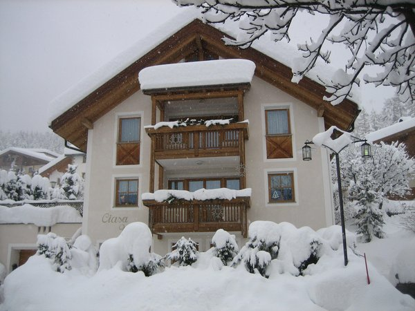 Winter presentation photo Apartment Ciasa Vilin