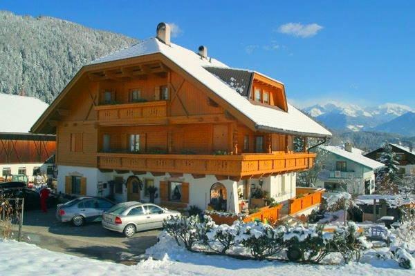 Foto invernale di presentazione Appartamenti Promberger