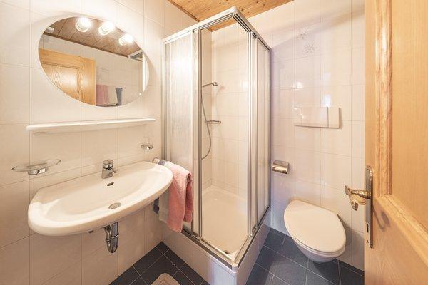 Foto del bagno Appartamenti Promberger