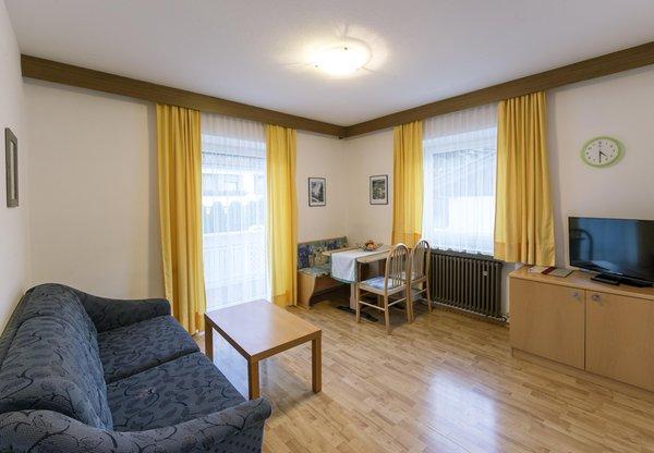 Der Wohnraum Ferienwohnungen Schönblick