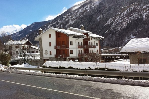 Foto invernale di presentazione Appartamenti Maison des Sizes