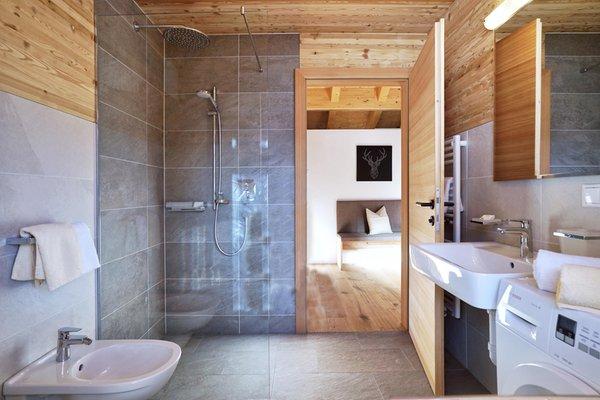 Foto del bagno Chalet Oberguggenberg