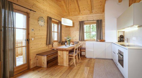 Foto della cucina Chalet Oberguggenberg