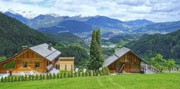 Foto esterno in estate Chalet Oberguggenberg