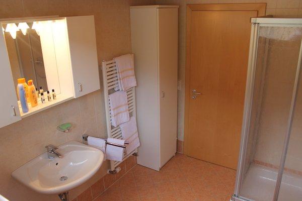 Foto del bagno Appartamenti in agriturismo Beikircherhof