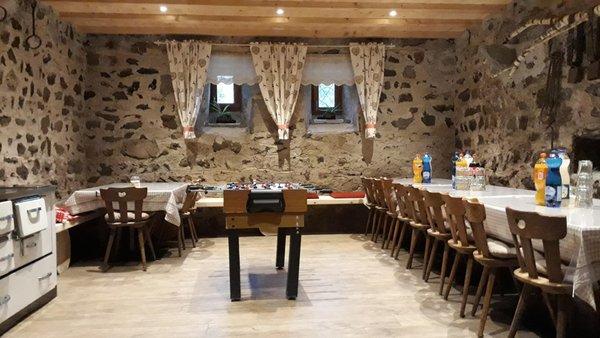 Il ristorante San Lorenzo di Sebato Oberwieserhof