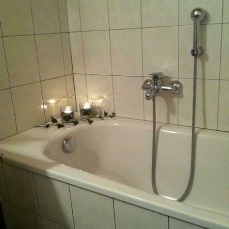 Foto del bagno Appartamenti in agriturismo Oberwieserhof