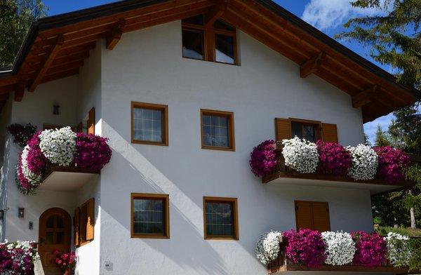 Foto esterno in estate Apartments Ciasa Colz