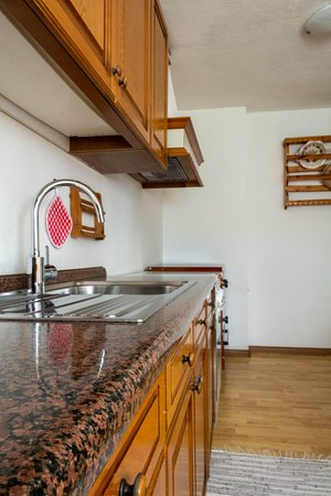 Foto della cucina Apartments Ciasa Colz