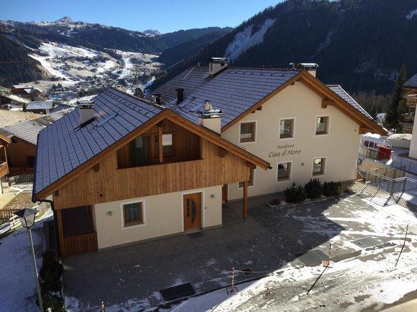 Photo exteriors in winter Ciasa dl Mone