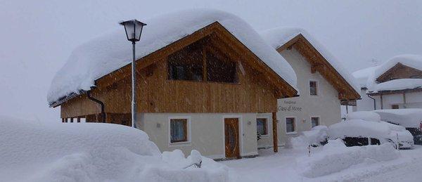 Foto invernale di presentazione Ciasa dl Mone - Residence 3 stelle