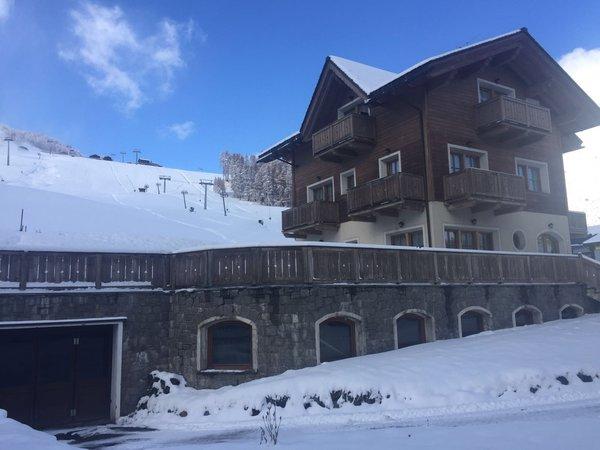 Foto invernale di presentazione Appartamenti Baita Valandrea