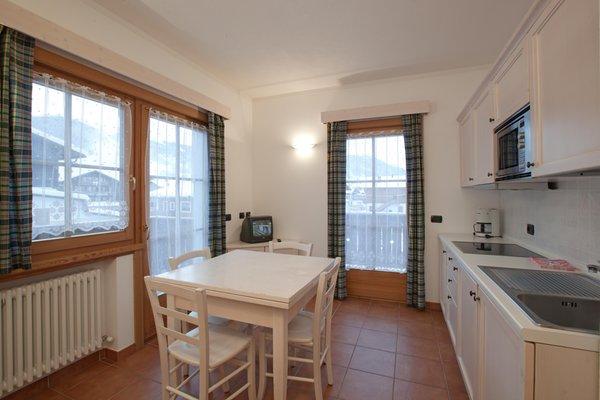 Foto della cucina Baita Valandrea