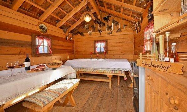Die Gemeinschaftsräume Ferienwohnungen auf dem Bauernhof Pirchnerhof