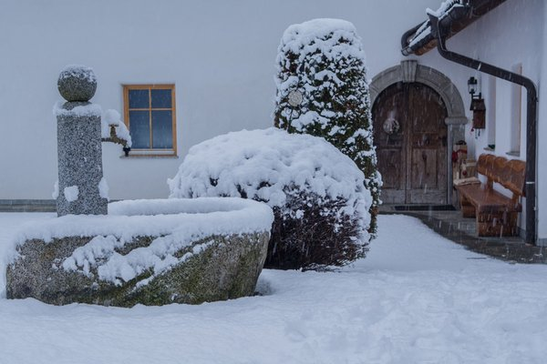 Photo exteriors in winter Stockerhof