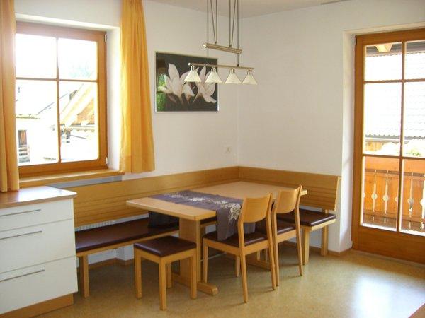 Der Wohnraum Ferienwohnungen auf dem Bauernhof Stockerhof
