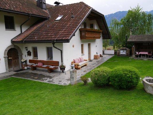 Foto estiva di presentazione Appartamenti in agriturismo Stockerhof