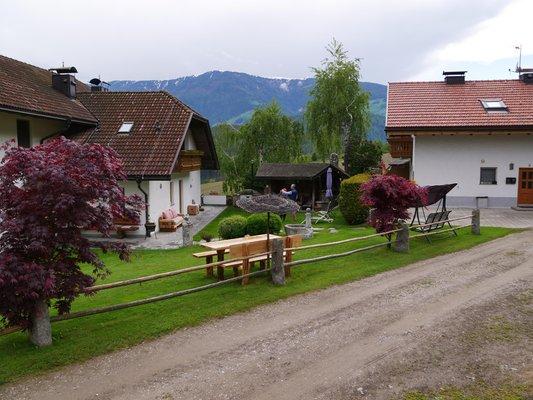 Foto esterno in estate Stockerhof