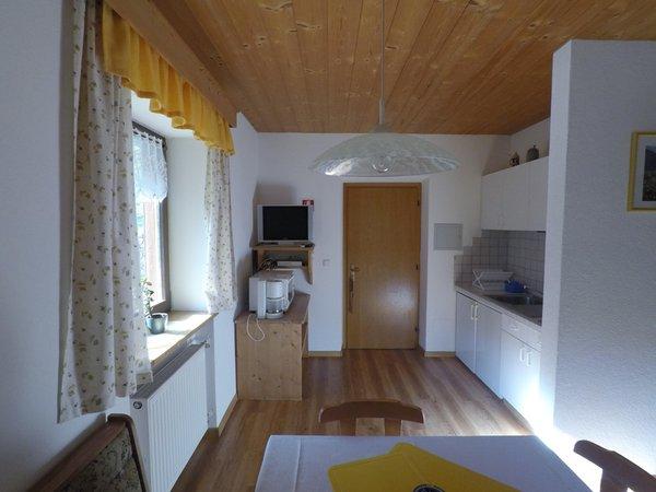 La zona giorno Appartamenti in agriturismo Thalerhof