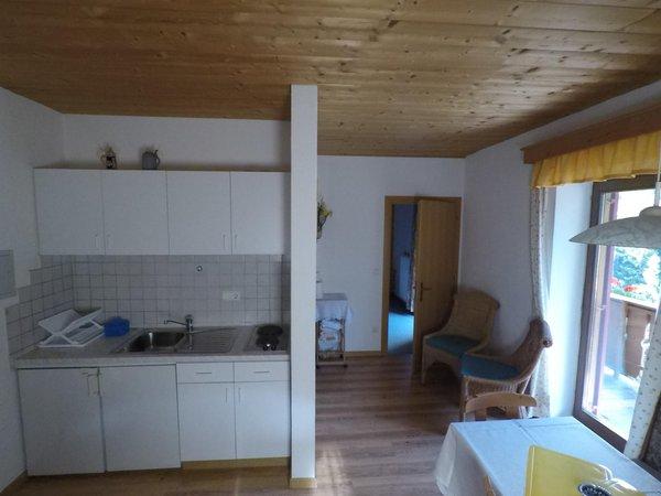 La zona giorno Thalerhof - Appartamenti in agriturismo 2 fiori
