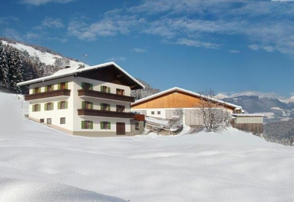 Foto invernale di presentazione Unterguggenberg - Appartamenti in agriturismo 2 fiori