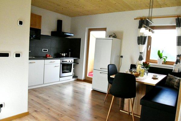 La zona giorno Kehrerhof - Appartamenti in agriturismo 3 fiori