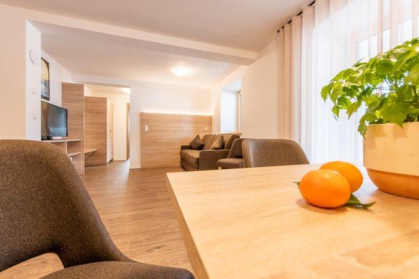 La zona giorno Appartamenti Hannas