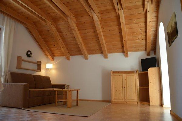 La zona giorno Appartamenti in agriturismo App. Maurerhof