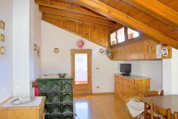 Der Wohnraum Ferienwohnung Pradetto Alida