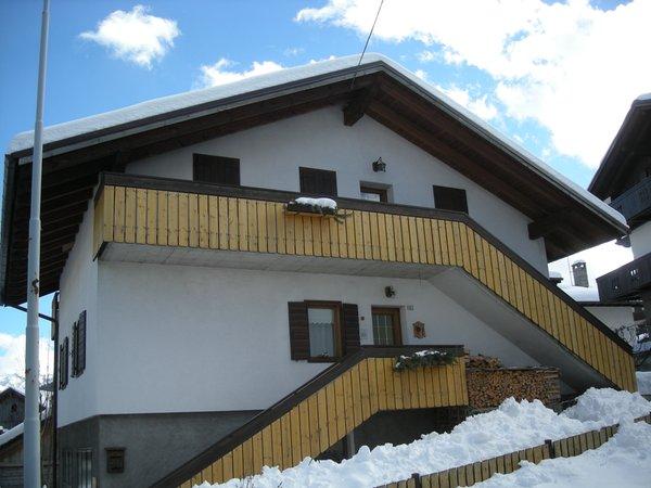 Winter Präsentationsbild Ferienwohnung Pradetto Alida