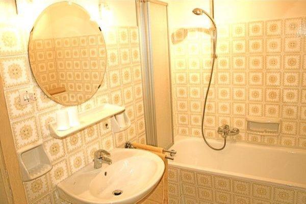 Foto del bagno Appartamenti in agriturismo Tanglerhof