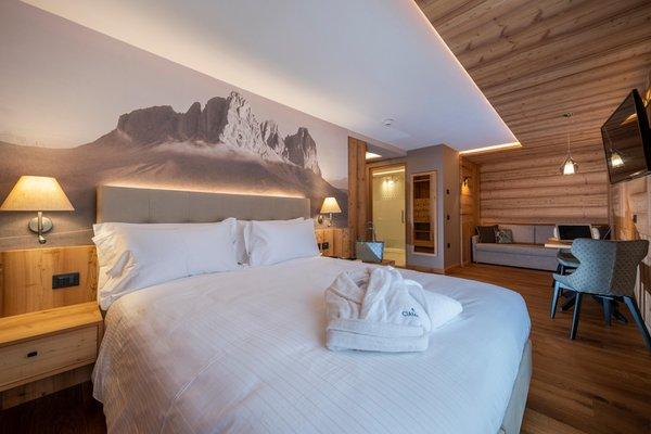 Foto vom Zimmer Ciampedie Luxury Alpine Spa Hotel