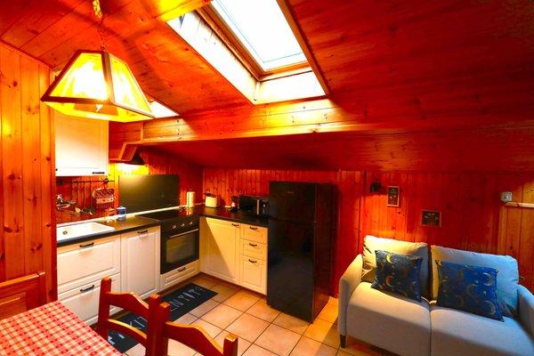 The living area Apartments Casa Corona