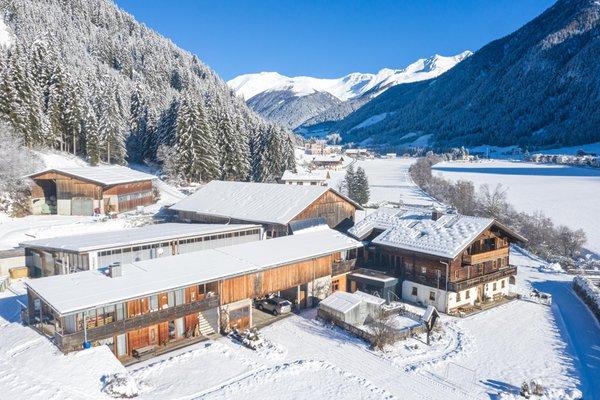 Foto invernale di presentazione Appartamenti in agriturismo Örlerhof