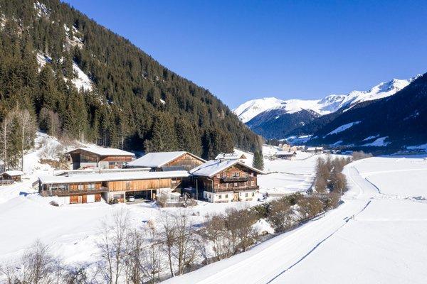 Foto esterno in inverno Örlerhof