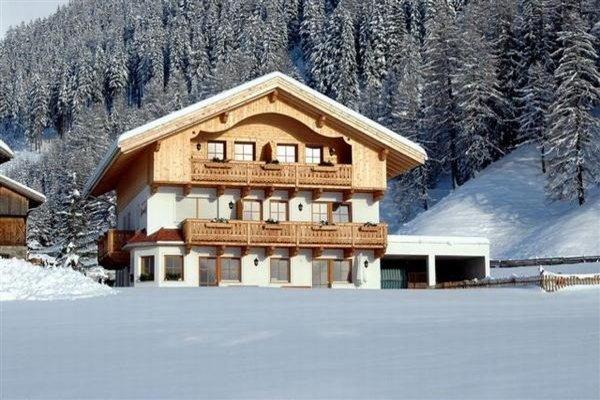 Foto invernale di presentazione Appartamenti in agriturismo Gattererhof
